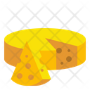 Cheese Healthy Food Icon