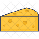 Cheese Food Dairy Icon
