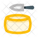Cheese Milk Item Healthy Icon