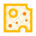 Cheese Piece Cheese Slice Icon