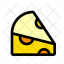 Cheese Cheese Cube Milk Product Icon