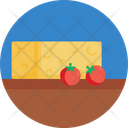 Salad Cheese Cherry Tomatoes Icon