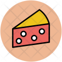 Cheese Piece Food Icon