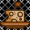 Cheese Milk Cheeses Icon
