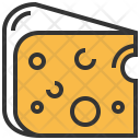 Cheese Food Salty Icon