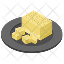 Cheese Block Icon
