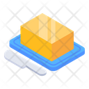 Cheese Block Dairy Product Cheese Icon