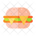 Cheese Burger Fast Food Food Icon