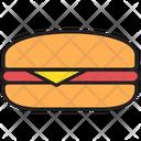 Cheese Burger Icon