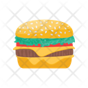 Burger Fast Food Meal Icon