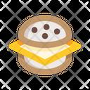 Cheese Burger Burger Fastfood Icon