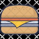Cheese Burger Cheese Burger Icon