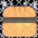 Cheese Burger Hamburger Burger Icon