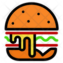 Cheese Burger Icon