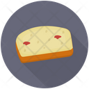 Cheesecake Cake Slice Cream Cake Icon