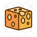 Cheese cube Icon