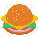 Cheese Hamburger Icon