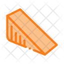 Triangular Piece Cheese Icon