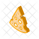 Piece Cheese Protein Icon