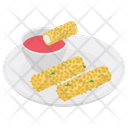 Cheese Rolls Icon
