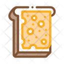 Cheese Sandwich Dairy Icon