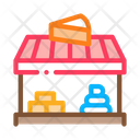 Cheese Shop Dairy Icon