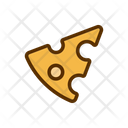 Cheese Cheddar Sliced Icon