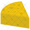 Cheese Slice Dairy Product Cheddar Cheese Icon