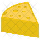 Cheese Slice Dairy Product Icon