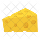 Cheese Slice Block Icon