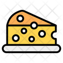 Cheese Cheese Slice Cheddar Cheese Icon