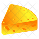 Cheddar Cheese Cheese Slice Dairy Product Icon