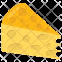 Cheese Slice Fatty Icon