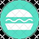 Cheeseburger Burger Eating Icon