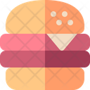 Cheese Burger Snack Icon