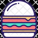 Cheeseburger Hamburger Burger Icon