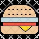 Cheeseburger Burger Fast Food Icon