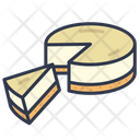 Sweet Cake Cheese Icon