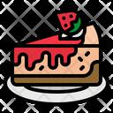 Cheesecake Cake Dessert Icon
