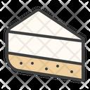 Cheesecake Pie Cake Icon