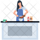 Preparing Food Meal Ready Hot Meal Icon