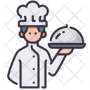 Chef And Food Chef Cooking Icon