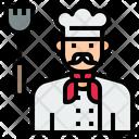 Iuniform Chef Cook Icon