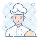 Chef Professional Cook Baker Icon
