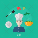 Chef Human Profession Icon