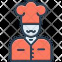 Chef Kitchen Cooker Icon