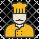 Chef Head Cook Icon