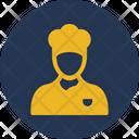 Chef Baker Man Avatar Icon
