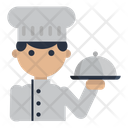 Chef Food Meal Icon