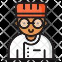 Chef Kitchen Restaurant Icon